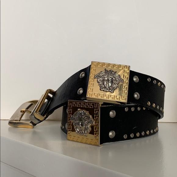 114f32ddef Versace Accessories   Gianni Medusa Vintage 90s Belt   Poshmark